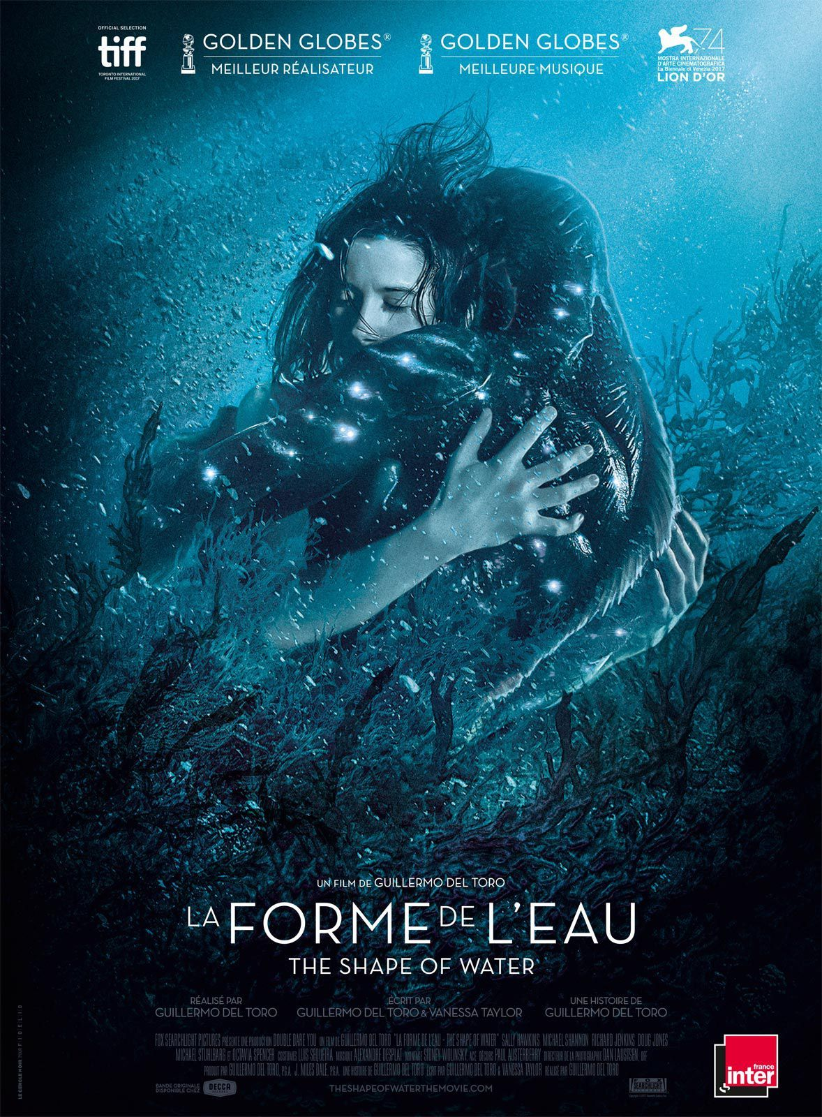 La Forme De L Eau The Shape Of Water 21 Fevrier Posteres De