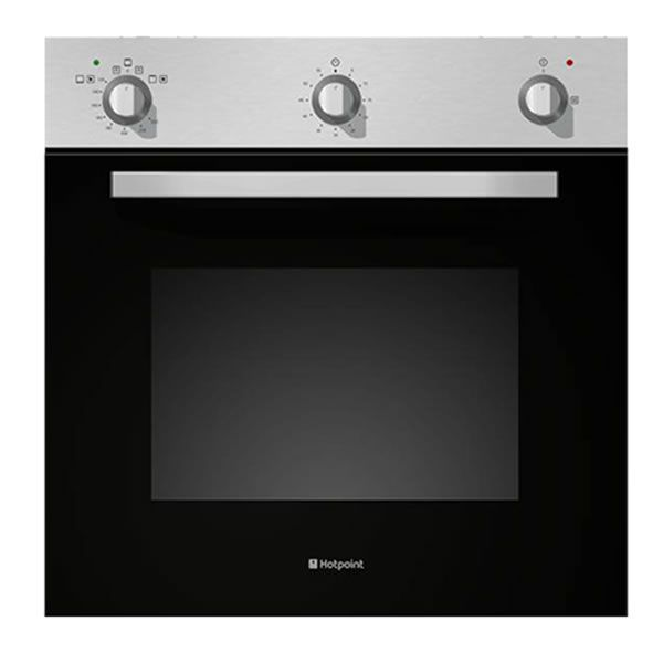 Attractive Built In Single Gas Oven Part - 6: Hotpoint SHY23X NEW STYLE Built-in Single Gas Oven Stainless Steel (Barcode  EANu003d