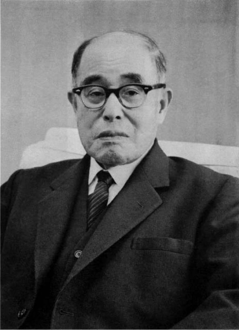 Daigoro YasukawaFounded the Japan Atomic Power Company in 1957. And President, Organizing Committee for the Games of  the XVIII Olympiad, Tokyo 1964