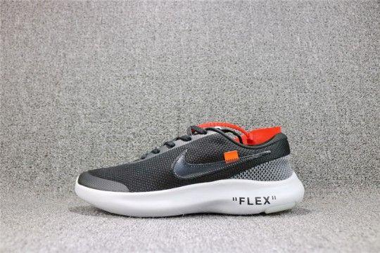 Off White x Nike FLEX EXPERIENCE RN 7  Black  AJ9089-001  ed45303bc