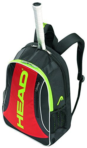 Head Elite Backpack Tennis Bag Black Red This Is An Amazon Affiliate Link You Can Find Out More Details At The Link Of The Im Elite Backpack Backpacks Bags