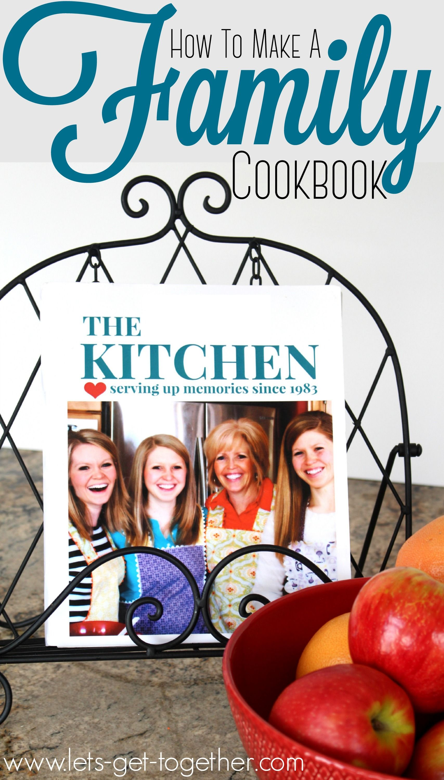 how to make a family cookbook family reunions cookbook ideas and