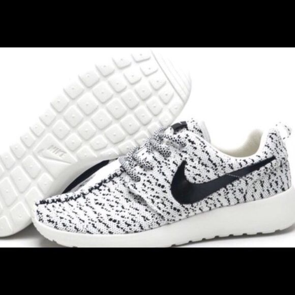 hot sales 7e956 89a3f New Women s Custom Nike Roshe 3 pairs left! Authentic w  tag. Never worn