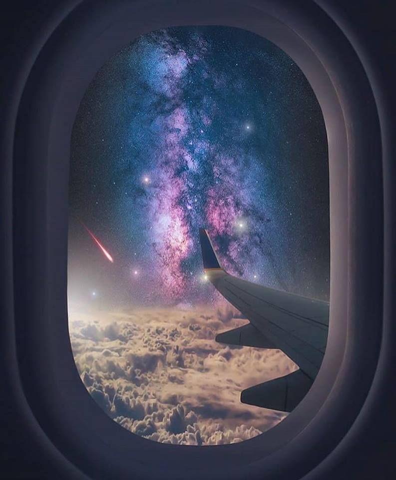 Ticket To Space Space Spaceship Nebula Astronomia