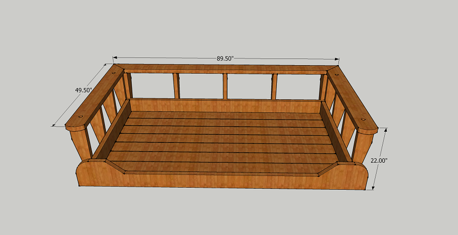 Pin By Jai On Atolye In 2020 Porch Swing Bed Porch Swing Bed Woodworking Plans