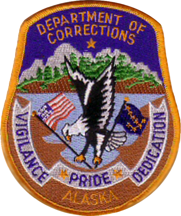 US State of Alaska Department of Corrections Patch