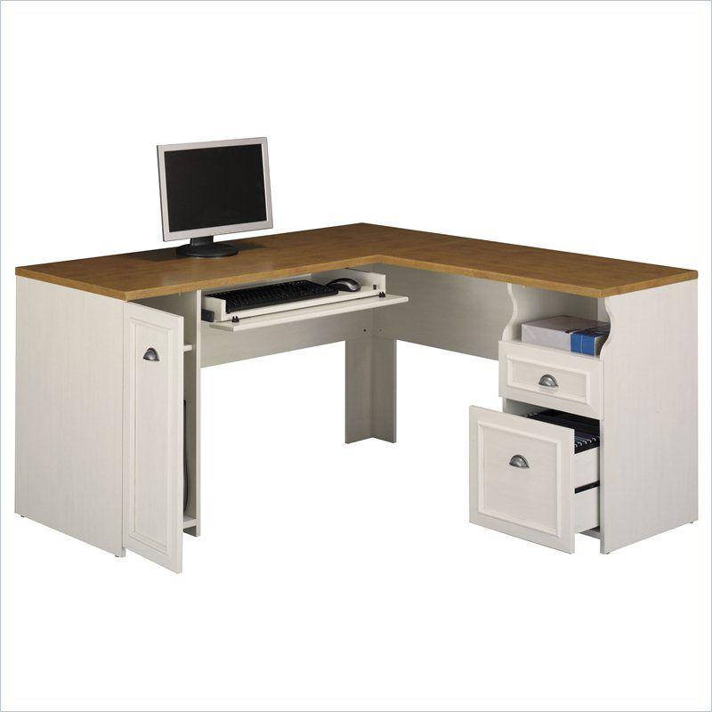 Bush Fairview L Shaped Computer Desk Desk L Shaped Desk Wood Computer Desk
