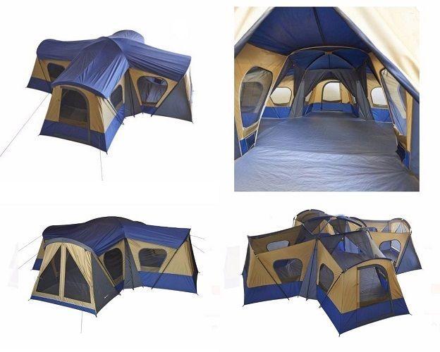 Tents For Sale Big Cabin Tent 14 Person 1 4 Room Easy Setup