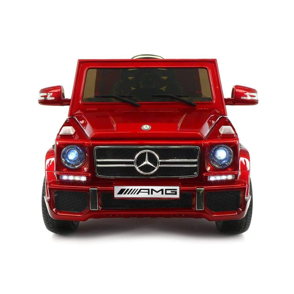 Best Ride On Cars 2018 Mercedes G65 AMG 12V Burgundy In