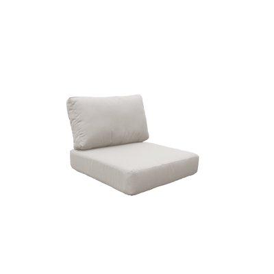 Rosecliff Heights Claire Indoor Outdoor Cushion Cover Fabric Beige In 2020 Outdoor Cushion Covers Outdoor Sofa Cushions Outdoor Lounge Chair Cushions