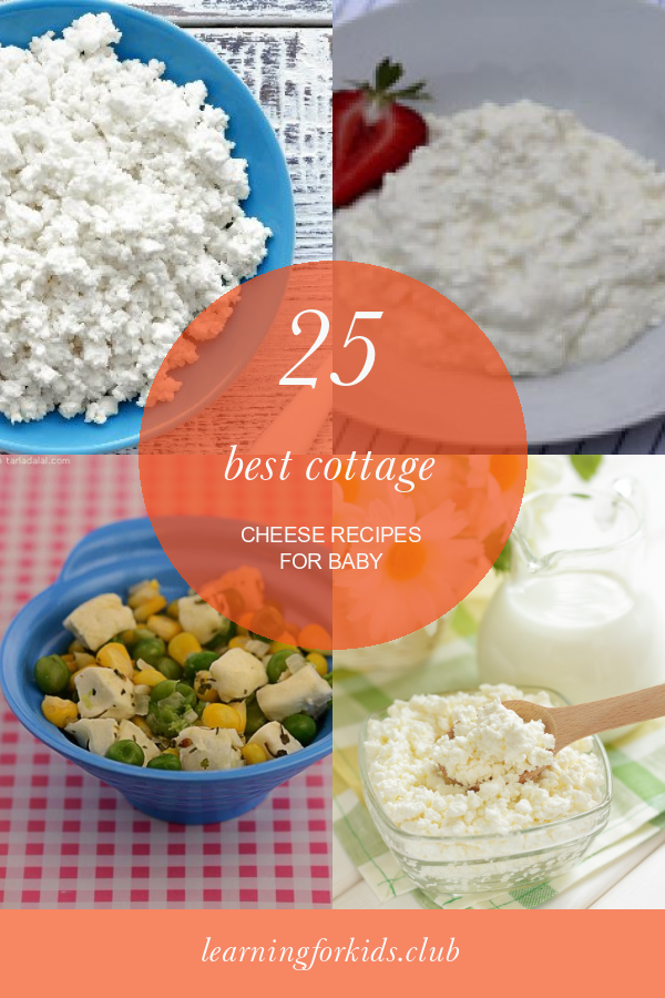 25 Best Cottage Cheese Recipes For Baby Cottage Cheese Recipes Cottage Cheese Recipe For Baby Easy Meals For Kids