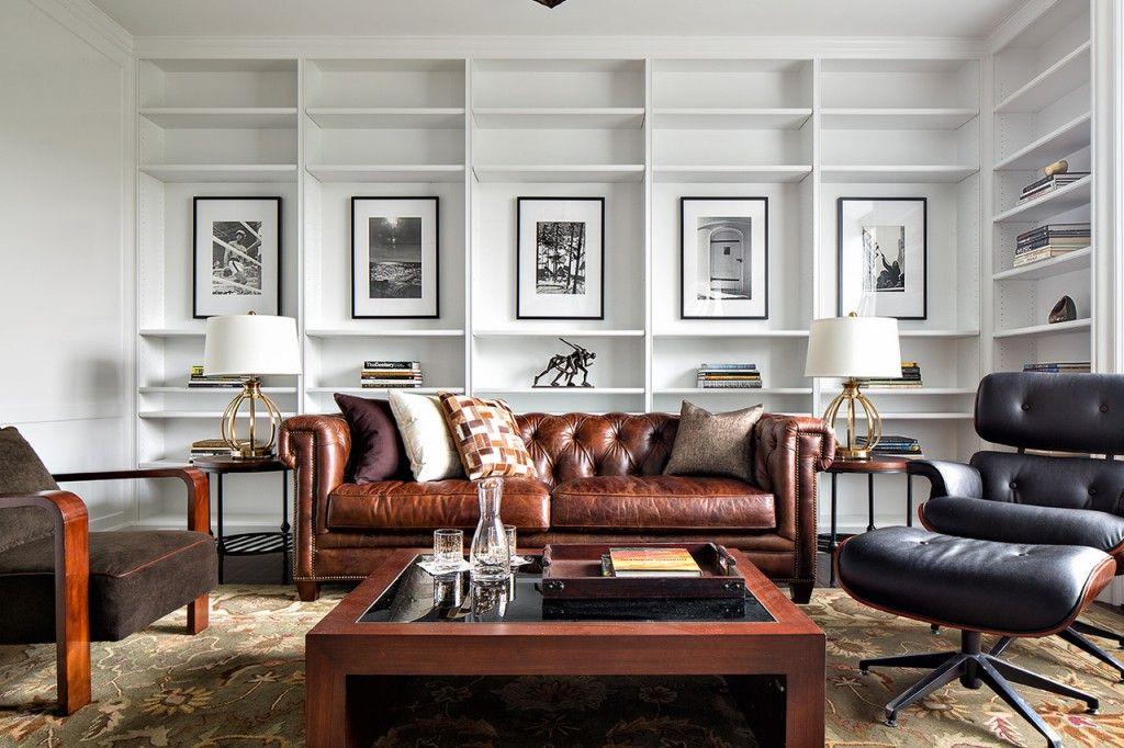 un nouveau duplex sur central park pour bruce willis cigar lounge decoracion de muebles. Black Bedroom Furniture Sets. Home Design Ideas