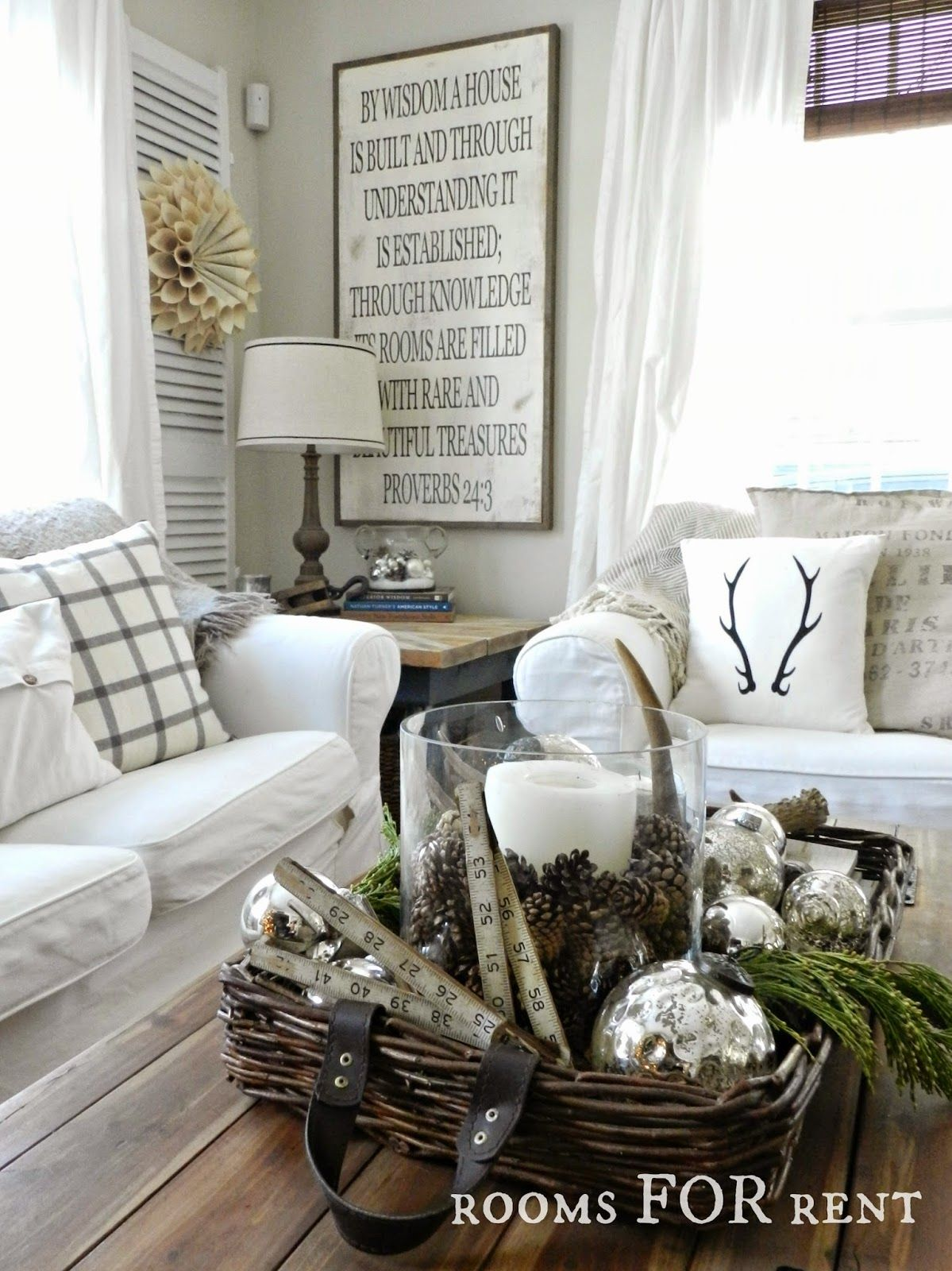 Country christmas decorations 2014 - Stunning Christmas Country Home Tour