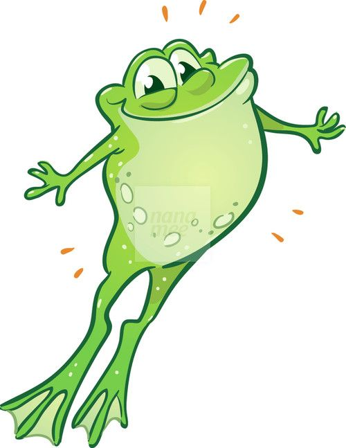 Image result for painting frog jumping