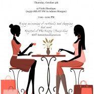 Bonus Event: Sip-n-Style Social at Violet Boutique