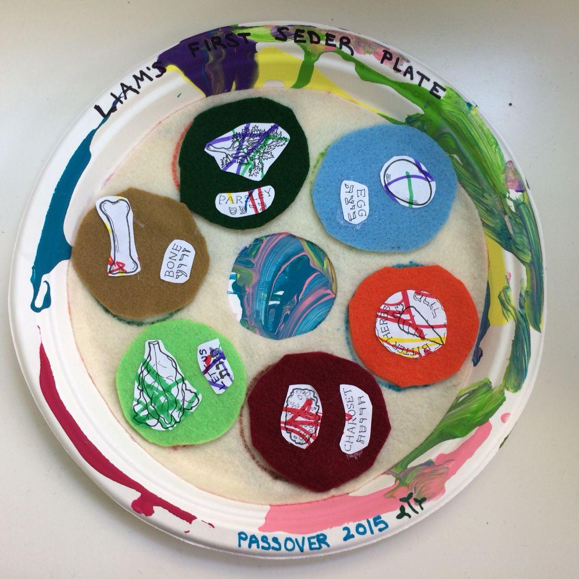 Preschool Passover Seder Plate Using Felt Passover Felt