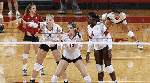 Alabama Volleyball Voted Second In Preseason Sec Poll University Of Alabama Athletics Alabama Athletics Volleyball News Volleyball