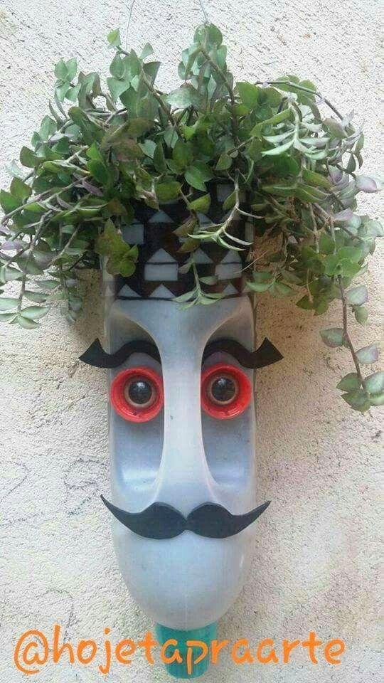 Garden #plasticbottleart