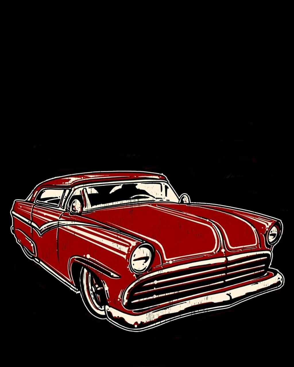 Santa Maria Chevrolet: Poster Art Hot Rod Rockabilly By Pave65 On DeviantArt