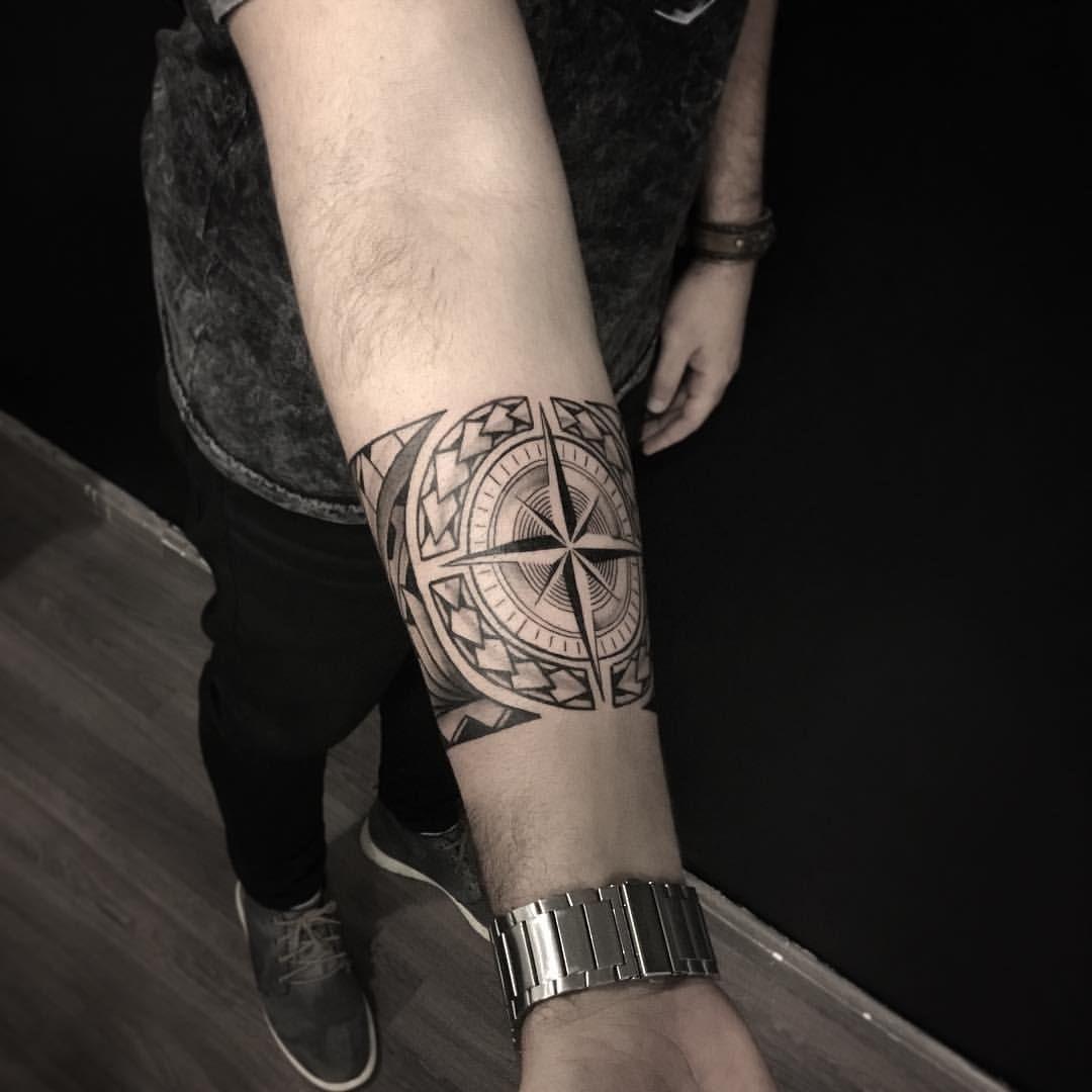 Trabalho Feito Ontem No Eduardo Tatuagem Maori Braco Tatuagem