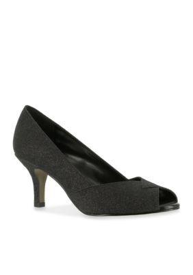 Easy Street Ravish Peep Toe Evening Shoe IbBYcA