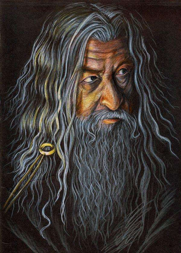 Gandalf the Grey by vigshane on DeviantArt