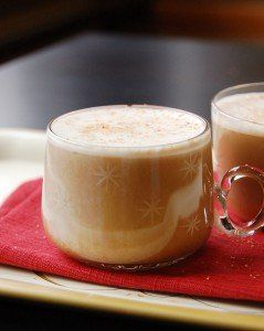 A beer lover's egg nog, the festive recipe is a cinch to make and a definite crowd-pleaser.