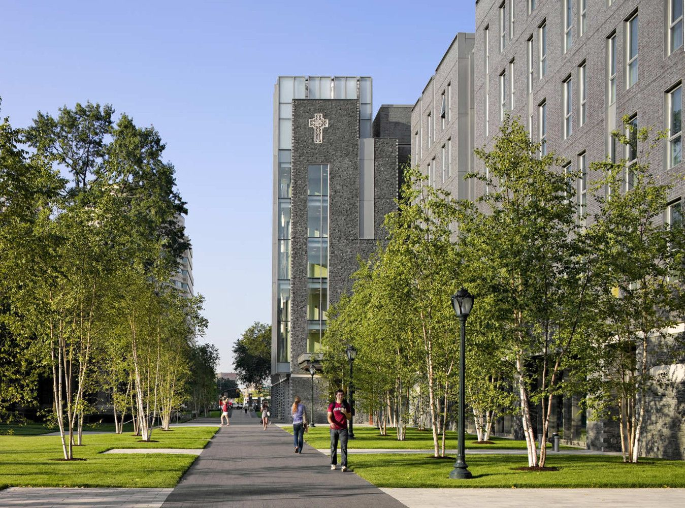 Gallery Of Fordham University New Residence Halls Sasaki 7 Fordham University Residence Hall University