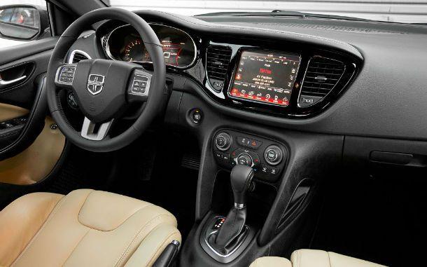2013 Dodge Dart Interior Automatic