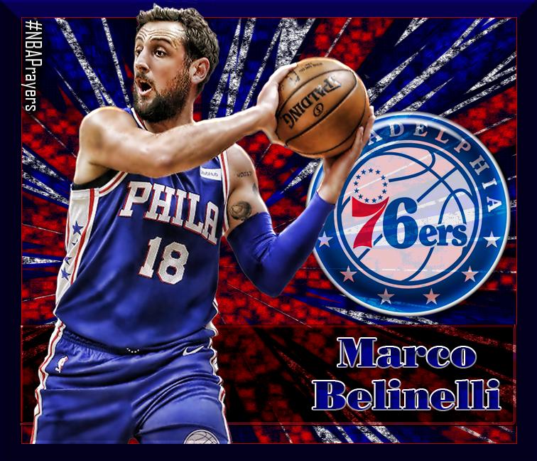 on sale f433b da04b NBA Player Edit - Marco Belinelli | 76ers - NBA Players ...