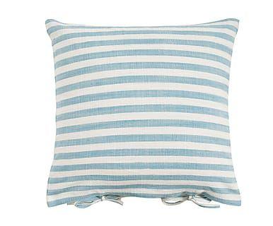 Cojín de algodón Carla, azul - 60x60 cm
