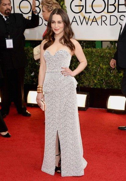 Emilia Clarke - Golden Globe 2014