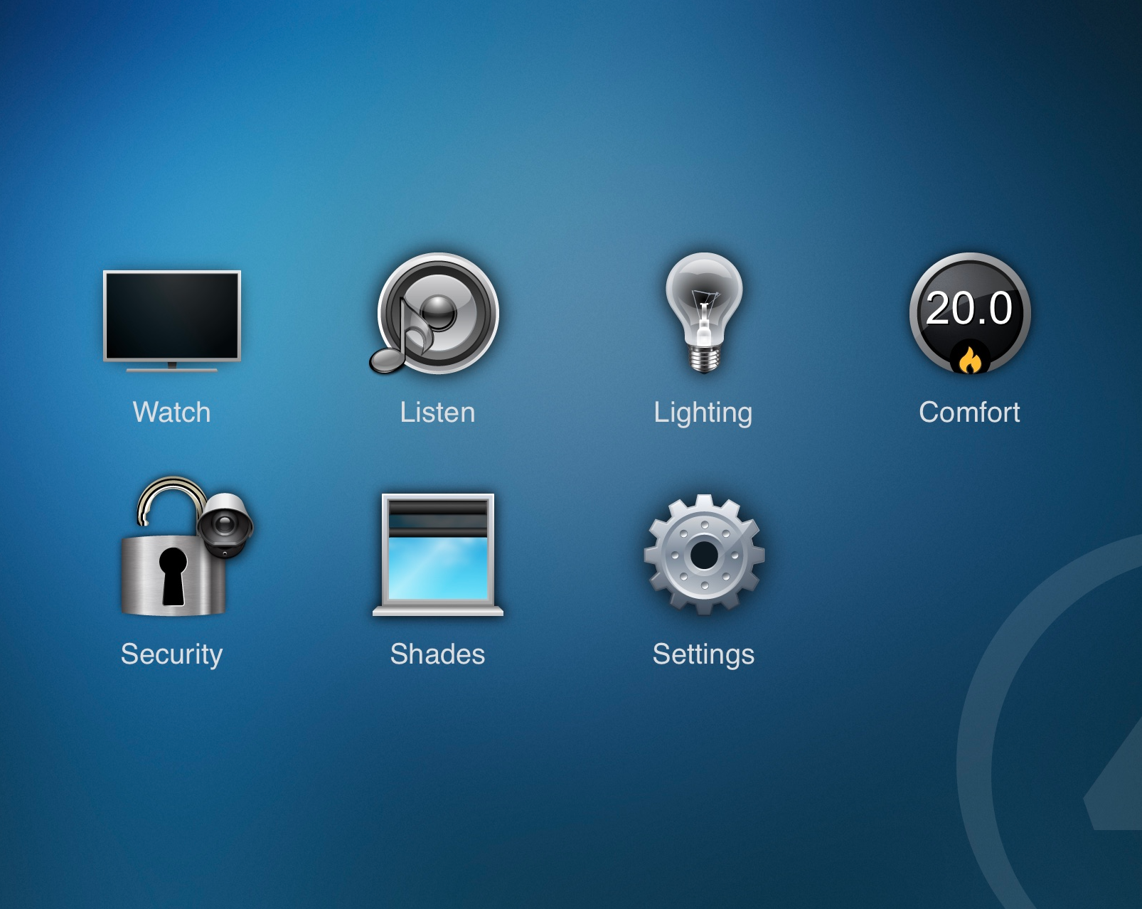 One app controls your home. Control lights, adjust the
