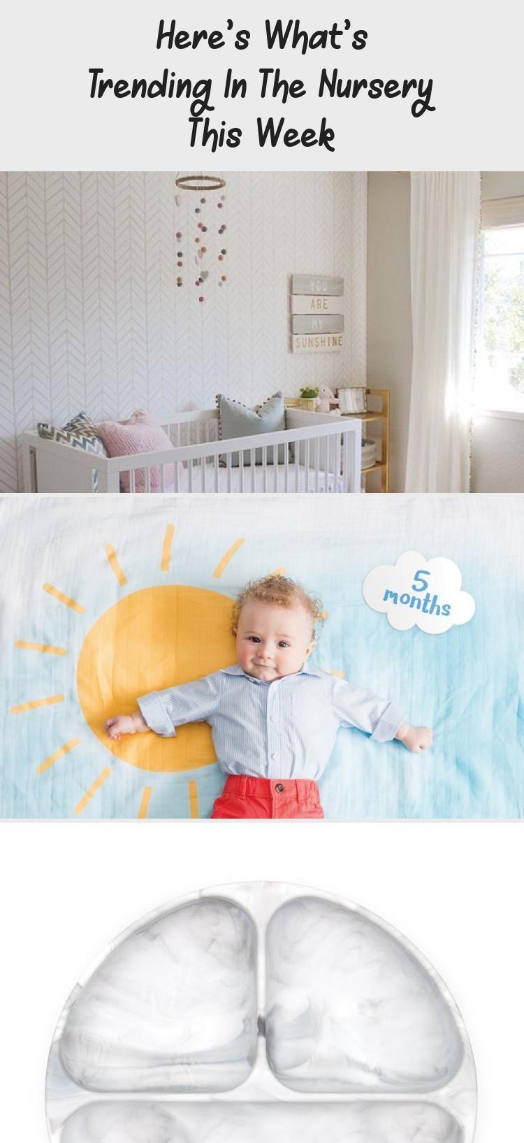 Hier ist was diese Woche im Kinderzimmer angesagt ist  Baby Hier ist was diese Woche im Kinderzimmer angesagt ist  Baby