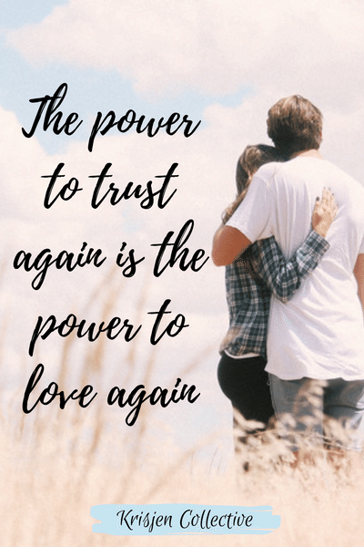 The Power To Love Again Love Again Quotes Trusting Again Finding Love Again