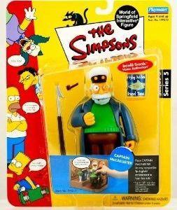 Playmates Simpsons Interactive Figure CAPTAIN McCALLISTER World of Springfield