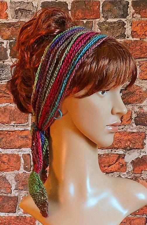 Crochet Headband Hairband Boho | Boho, Moda crochet y Tejido