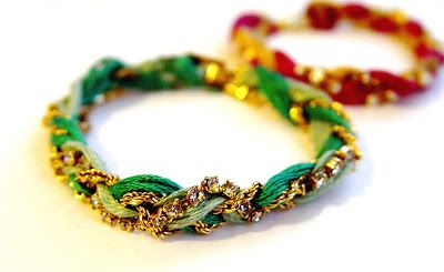 So Creative!: DIY Friendship bracelet. What to do with an oversized bracelet. Great for valentine's day