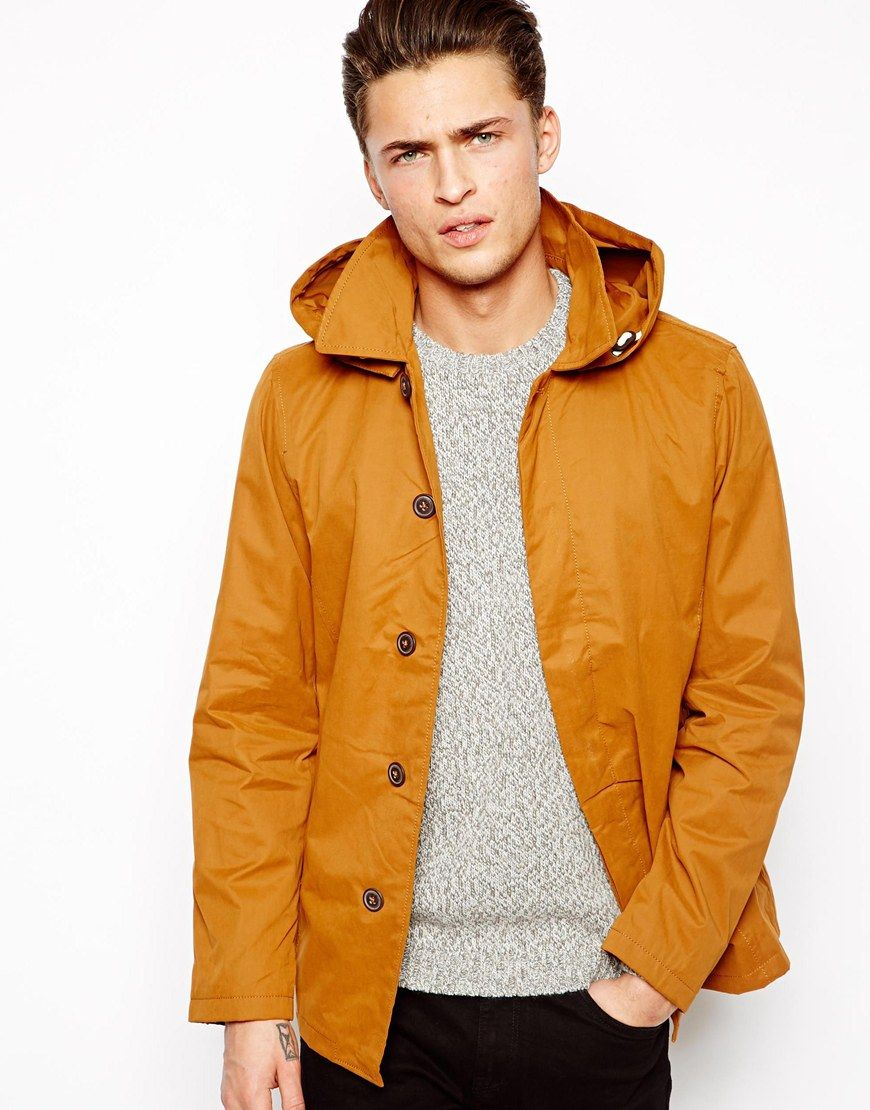 Image 1 of Pull&Bear Parka Jacket with Hood | WEAR: Outerwear ...