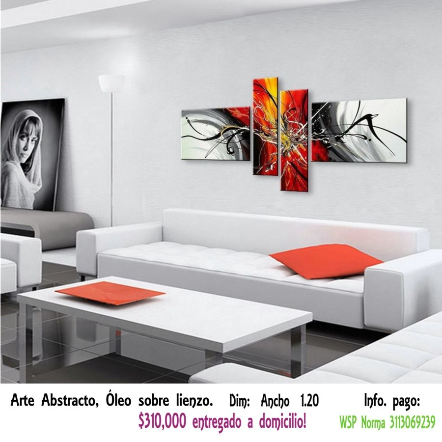 Cuadro de Arte Abstracto  AA19