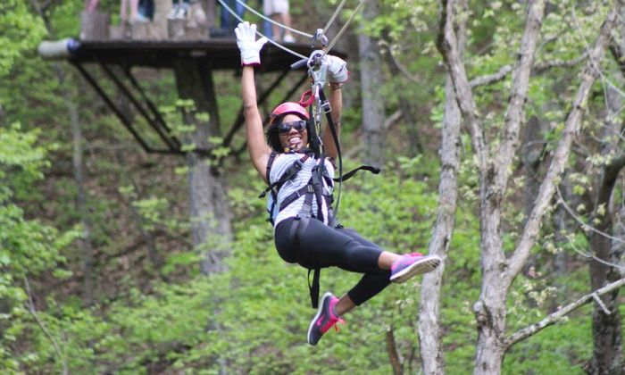 2 5 Hour Ziplining Tour For One Or Two At Virginia Canopy Tours Up To 35 Off Ziplining Shenandoah River Sky Bridge