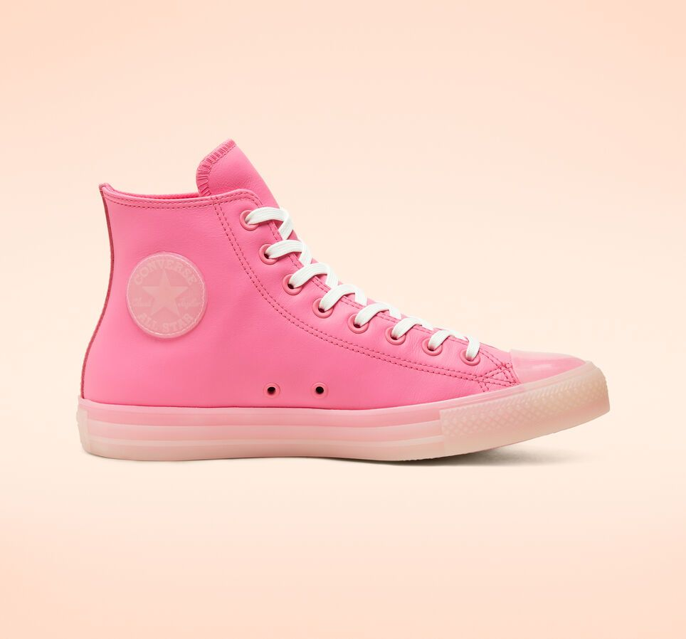 Converse Neon Leather Chuck Taylor All