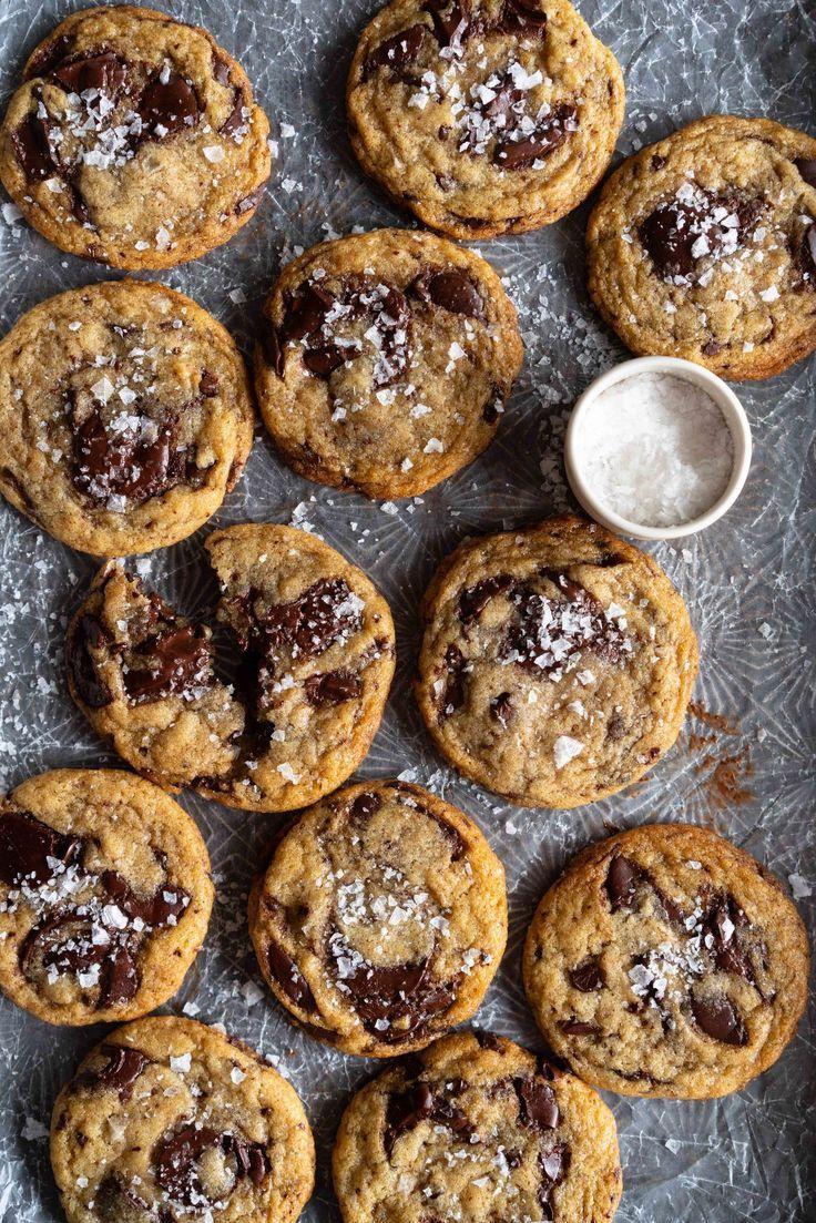 Vegan Chocolate Chunk Cookies — Cloudy Kitchen