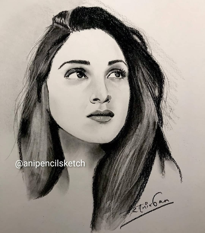 Pin auf Pencil Drawing Girls   Girl Portraits
