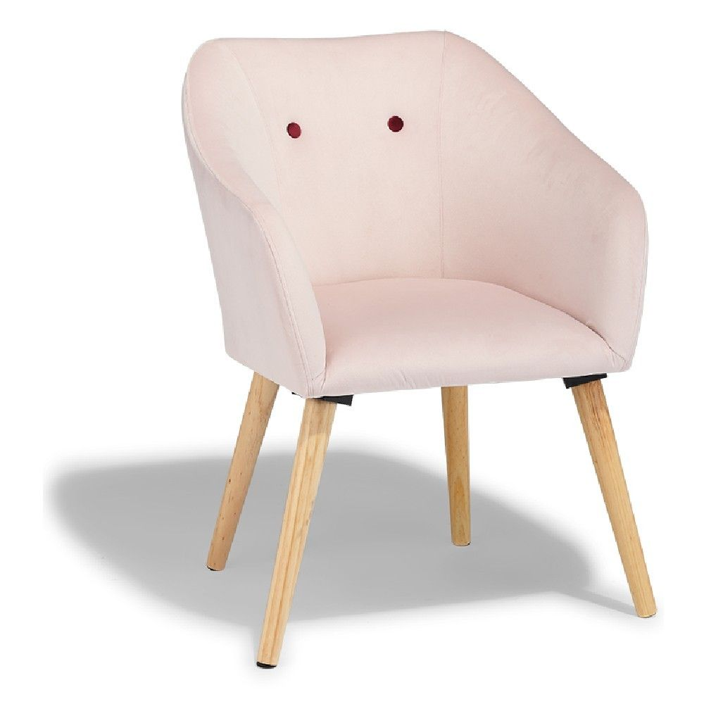 Chaise Oslo Rose Design Scandinave But Chaise Gifi Chaise Bureau Chaise De Salle A Manger