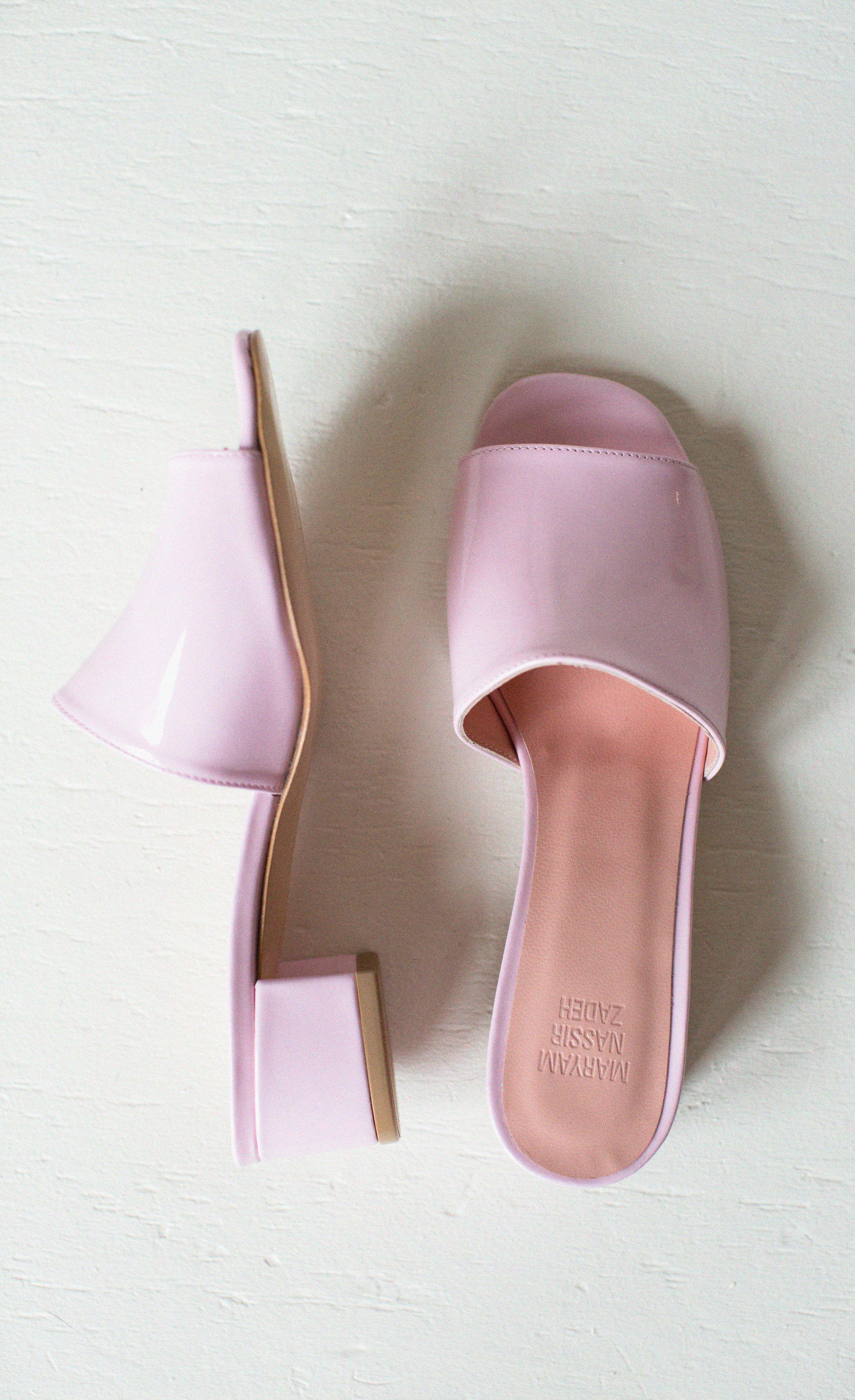 b9f398bccabf6 MNZ Bubblegum Pink Sophie Slide