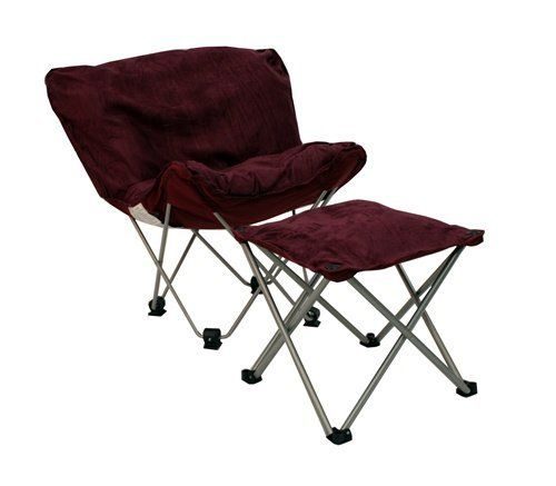 Padded Butterfly Chair With Ottoman By Mac Sports. $79.99. Ideal Spot To  Watch TV