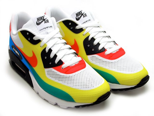 multi coloured air max 90