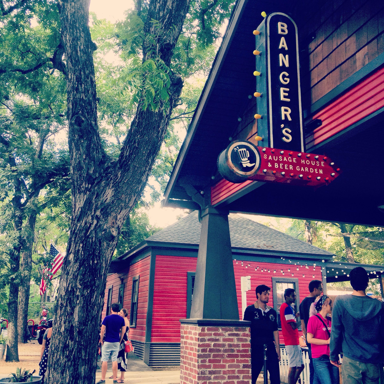 Austin Beer Garden Manchaca