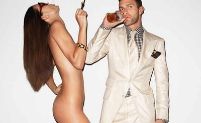 Noah Mills, Tom Ford y Terry Richardson